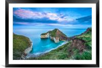 High Stacks Arch, Flamborough Head, Framed Mounted Print