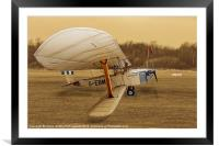 Hawker Cygnet, Framed Mounted Print