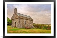 St Nons Retreat Chapel, Framed Mounted Print