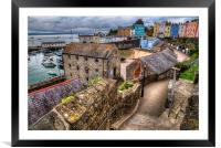 Down to Tenby Harbour, Framed Mounted Print