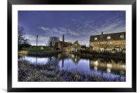 Lower Slaughter Mill, Framed Mounted Print