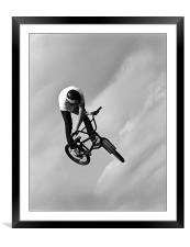 Big Air, Framed Mounted Print