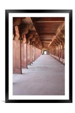 Red Fort India, Framed Mounted Print
