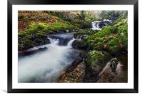 A Stream of Snowdon , Framed Mounted Print