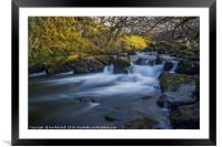 Nant Ffrancon Pass River, Framed Mounted Print