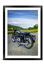 BSA Country Ride , Framed Mounted Print