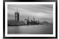 Peaceful Parliament, Framed Mounted Print
