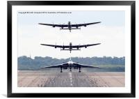 AVRO Trio, Framed Mounted Print