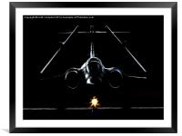 Buccaneer in the Shadows., Framed Mounted Print