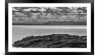 The Pentland(s) Rising, Framed Mounted Print