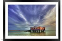 Lifeboat House, Framed Mounted Print