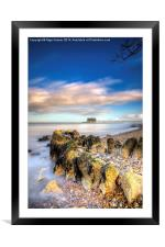 Bembridge Beach, Framed Mounted Print
