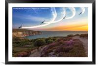 Blades Over The Needles, Framed Mounted Print