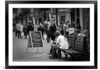 Lunchtime, Framed Mounted Print