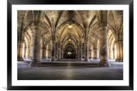 Cloisters, Framed Mounted Print