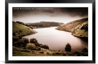 Elan Valley, Framed Mounted Print