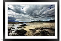 Beached, Framed Mounted Print