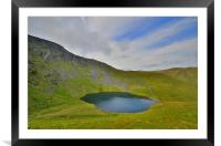 The Lake District: Scales Tarn, Framed Mounted Print