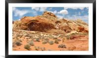 Valley of Fire, Framed Mounted Print