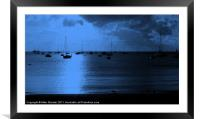 Storm Brewing 2, Framed Mounted Print