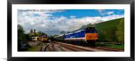 Two 50s and a HST, Framed Mounted Print
