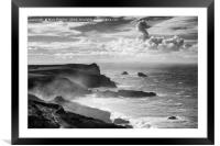 Cornish Coast, Framed Mounted Print