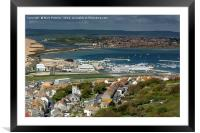 Overlooking Weymouth, Framed Mounted Print