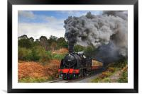 Volcanic action near Bewdley, Framed Mounted Print