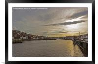 Whitby Harbour, Framed Mounted Print