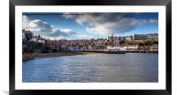 Whitby Outer Harbour , Framed Mounted Print