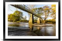 Bridge over the Esk, Framed Mounted Print
