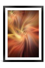 Doubled Vibrations of Light , Framed Mounted Print