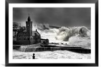 Storm force, Framed Mounted Print