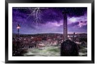 His Arrival, Framed Mounted Print
