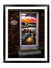 Theatrical Whitby, Framed Mounted Print
