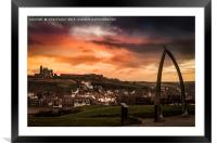 Whitby Vista, Framed Mounted Print
