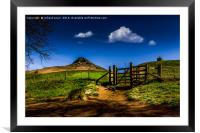 Summits Gate, Framed Mounted Print