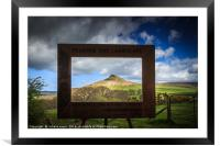 Its a Frame Up!, Framed Mounted Print