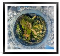 View from the Top, Framed Mounted Print