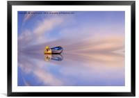 Reflections of Journeys Never Taken , Framed Mounted Print