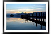 Coniston - Lake District, Framed Mounted Print