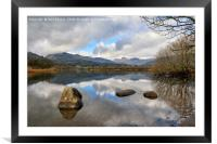 Elterwater Reflections, Framed Mounted Print