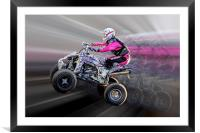 Extreme sports, Framed Mounted Print