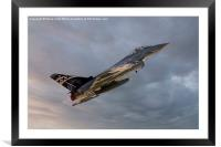 29(R) Squadron Typhoon - 2014, Framed Mounted Print