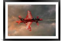 Red Arrows - Opposition Pass, Framed Mounted Print