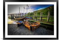 A little of Venice on Derwent Water, Framed Mounted Print