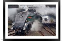 60009 Union Of South Africa, Framed Mounted Print