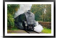 A4 60009 Union Of South Africa, Framed Mounted Print