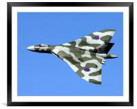 XH558 at the Windermere Airshow., Framed Mounted Print