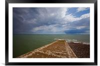 The causeway, Framed Mounted Print